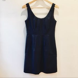 J. CREW Navy Shift Dress